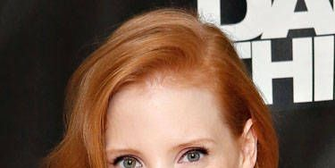 It doesn't get much better than Chastain at the <i>Zero Dark Thirty</i> photo call. We're obsessed with her Jessica Rabbit tresses, coquettish cat eye and romantic, violet-pink lipstick. Stunning!