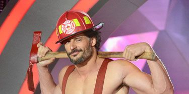 When the <i>Magic Mike</i> star strutted onstage in a fireman's outfit at the MTV Movie Awards, our jaws dropped. <i>Hel-lo</i>, Joe!