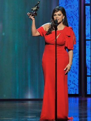 <p>Jenni knew that Latinas kill it in red. Do we have to say much more?<br /><br /></p>