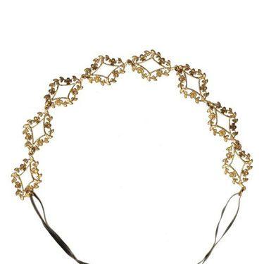 "<p>A delicate, gold leaf headband is such a romantic accessory, whether you're rocking a sleek pixie or long, pre-Raphealite waves.</p><p>Eddera Ethereal Headband, $165, <a href=""http://store.eddera.com/merchant2/merchant.mvc?Screen=PROD&Store_Code=EDDP&Product_Code=50352&Category_Code=headbands"" target=""_blank"">Eddera.com</a></p>"
