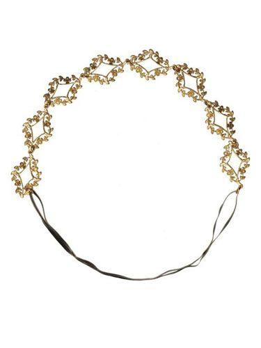 "<p>A delicate, gold leaf headband is such a romantic accessory, whether you're rocking a sleek pixie or long, pre-Raphealite waves.</p>  <p>Eddera Ethereal Headband, $165, <a href=""http://store.eddera.com/merchant2/merchant.mvc?Screen=PROD&Store_Code=EDDP&Product_Code=50352&Category_Code=headbands"" target=""_blank"">Eddera.com</a></p>"