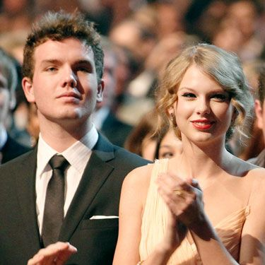 Taylor Swift sometimes takes her two-years-younger bro as her date to awards shows. Just another reason to be jeals of Tay.