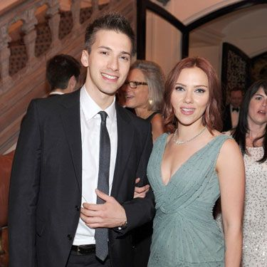 Yup, Scarlett Johansson has a twin! He was born three minutes after his A-list sis.