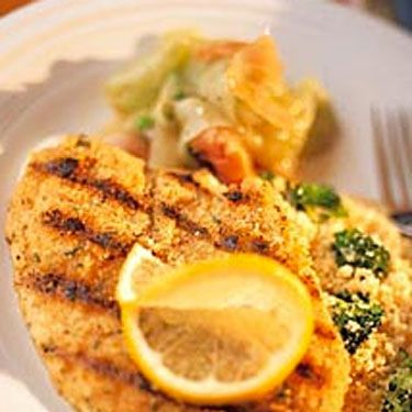 The lighter and whiter the fish, the better. You know when fish is light and flaky, you can just break it with a fork? That's how easy it is to digest.