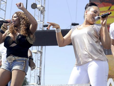 Chance of reunion: 70%</br> Salt, Pep, and Spinderella have been showing up for about one concert a year since VH1's, <i>The Salt-n-Pepa Show</i> ran for two seasons in 2007. We're feeling pretty confident we'll be hearing more from the ladies soon.