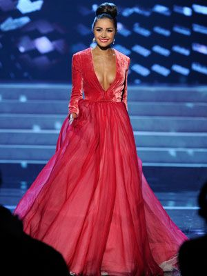 Miss Universe 2012 Dresses - Best Evening Gowns At Miss Universe 2012