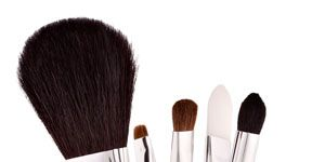 """<p>Washing your brushes once a week will prevent you from getting acne or skin infections, reduce facial oils from getting into your compacts, and extend the lives of your brushes. Clean synthetic foundation and concealer brushes with regular face wash, but use shampoo for fluffy powder puffs and shadow brushes. Allow time to air dry.</p> <div style=""""overflow: hidden; color: #000000; background-color: #ffffff; text-align: left; text-decoration: none;""""> </div>"""