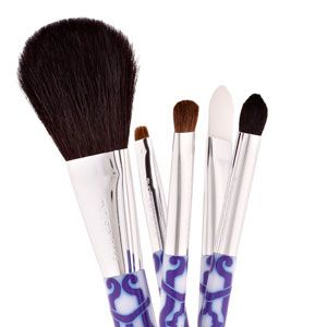 <p>Washing your brushes once a week will prevent you from getting acne or skin infections, reduce facial oils from getting into your compacts, and extend the lives of your brushes. Clean synthetic foundation and concealer brushes with regular face wash, but use shampoo for fluffy powder puffs and shadow brushes. Allow time to air dry.</p>
