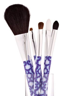 "<p>Washing your brushes once a week will prevent you from getting acne or skin infections, reduce facial oils from getting into your compacts, and extend the lives of your brushes. Clean synthetic foundation and concealer brushes with regular face wash, but use shampoo for fluffy powder puffs and shadow brushes. Allow time to air dry.</p> <div style=""overflow: hidden; color: #000000; background-color: #ffffff; text-align: left; text-decoration: none;""> </div>"