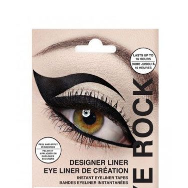 <p>If the whole graphic liner trend is a little beyond your artistic capability, fake it with these dramatic liner appliqués! Each kit comes with four different styles, from classic to Sophia Loren-sultry.</p>