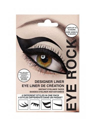 "<p>If the whole graphic liner trend is a little beyond your artistic capability, fake it with these dramatic liner appliqués! Each kit comes with four different styles, from classic to Sophia Loren-sultry.</p>  <p>Eye Rock Liner Appliques, $7, <a href=""http://www.beauty.com/eye-rock-liner-appliques-classics/qxp389751?catid=12977&N=0"" target=""_blank"">beauty.com</a></p>"