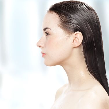 Quench dry strands by substituting conditioner with a hair mask once a