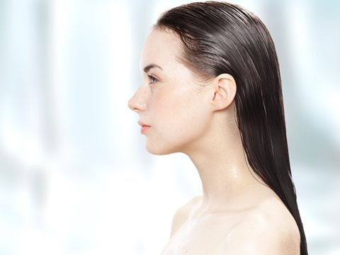 Quench dry strands by substituting conditioner with a hair mask once a week.