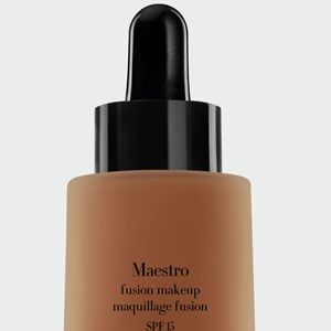 """<p>Giorgio Armani Maestro Foundation glides on smooth and leaves you looking flawless, and it's got SPF. Our beauty editor calls it the best foundation in the world.</p><p>$62, <a href=""""http://shop.nordstrom.com/s/giorgio-armani-maestro-fusion-foundation-broad-spectrum-spf-15/3380034"""" target=""""_blank"""">Nordstrom</a></p><p> </p><p>On a budget? Try Rimmel Lasting Finish Foundation, $6, <a href=""""http://www.walgreens.com/store/c/rimmel-lasting-finish-25-hour-foundation/ID=prod6030840-product?ext=gooBeauty_PLA_Foundation_prod6030840_pla&adtype={adtype}&Kpid=prod6030840&sst=3a607f87-5f2a-24a9-13cc-000009984c21"""" target=""""_blank"""">Walgreens</a></p><p> </p><p> </p>"""