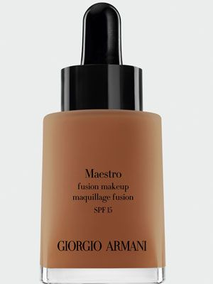 "<p>Giorgio Armani Maestro Foundation glides on smooth and leaves you looking flawless, and it's got SPF. Our beauty editor calls it the best foundation in the world.</p> <p>$62, <a href=""http://shop.nordstrom.com/s/giorgio-armani-maestro-fusion-foundation-broad-spectrum-spf-15/3380034"" target=""_blank"">Nordstrom</a></p> <p> </p> <p>On a budget? Try Rimmel Lasting Finish Foundation, $6, <a href=""http://www.walgreens.com/store/c/rimmel-lasting-finish-25-hour-foundation/ID=prod6030840-product?ext=gooBeauty_PLA_Foundation_prod6030840_pla&adtype={adtype}&Kpid=prod6030840&sst=3a607f87-5f2a-24a9-13cc-000009984c21"" target=""_blank"">Walgreens</a></p> <p> </p> <p> </p>"