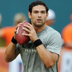 <p>Mexican-American Jets quarterback Mark Sanchez has to have more than great biceps if he has scored hotties like Eva Longoria. </p>
