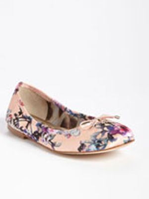 "<p>Floral's were a huge trend at MBFW this year and will definitely be around through spring and summer. If floral pants or blazers aren't your thing, opt for Sam Edelman's 'Felicia' flat that gives you just a hint of floral to be trendy.</p> <p><a title=""Floral flat"" href=""http://shop.nordstrom.com/S/sam-edelman-felicia-flat/3436757?origin=category&contextualcategoryid=0&fashionColor=&resultback=0%20"" target=""_blank"">$89.95</a></p>"