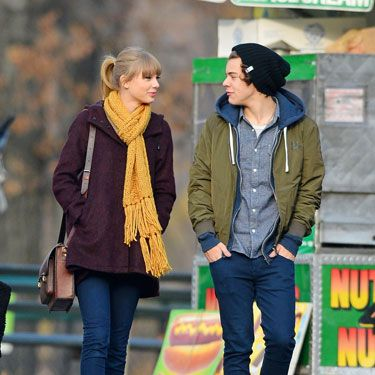While together, Taylor Swift and Harry Styles were one casually chic couple.