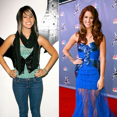 Cassadee Pope went from punk rock to totally glam in a matter of weeks.