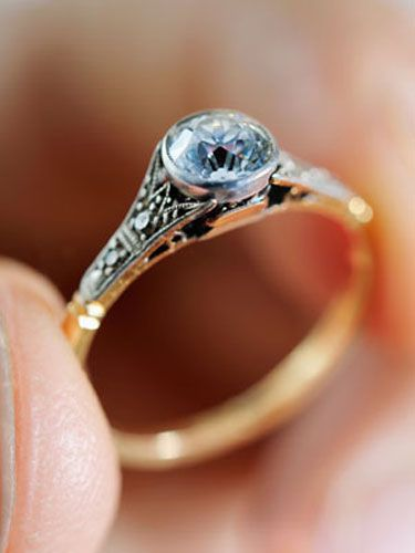 <p>Edwardian, vintage-inspired ring sales have increased bigtime, thanks to shows like <i>Downton Abbey</i>. The designs are delicate, incredibly feminine while still being sophisticated—like lace dripping in diamonds. The show's U.S. return in 2013 should mean even more requests for this vintage style.</p>