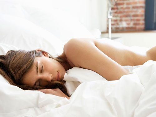 Sexy naked wives sleeping