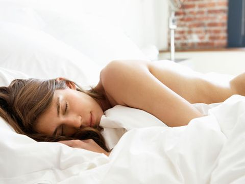 "While you might like being cozy and warm at night, it's actually important to have a cooler environment when you sleep, says Lisa Shives, MD, who sits on the National Sleep Foundation's board of directors. ""Your body temp progressively declines as you sleep, which is a natural tendency of the body, so being too warm with heavy PJs and blankets <a href=""http://www.cosmopolitan.com/advice/health/insomnia-causes"" target=""_blank"">can disrupt that</a>.""  Sleeping naked, she says, can help your body stay cool."