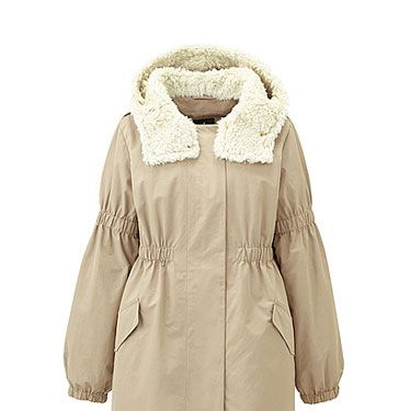 <p>This slouchy coat is so cool we can hardly stand it. Grab it now as the perfect winter-to-spring jacket.</p>