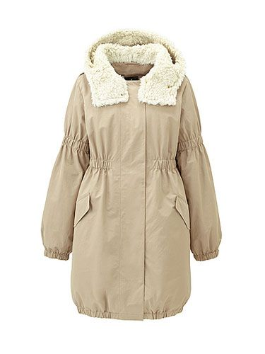 "<p>This slouchy coat is so cool we can hardly stand it. Grab it now as the perfect winter-to-spring jacket.</p>  <p>Uniqlo Women Dip Balcony and Bed Military Coat, $59.90, <a href=""http://www.uniqlo.com/us/store/made-for-all/women-dip-balcony-and-bed-military-coat/074747-32"" target=""_blank"">uniqlo.com</a></p>"