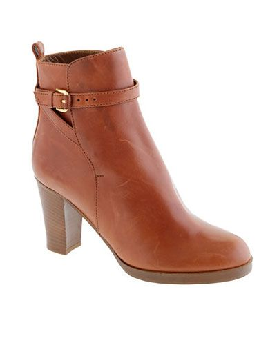 "That orangey-brown leather is so bright and warm, it makes these booties look that much cozier. Bonus: Ankle boots are ultra-classy for the office. <br></br> J. Crew Felix high-heel boots, $169.99,  <a href=""http://www.jcrew.com/womens_special_sizes/sizes512shoes/size5/PRDOVR~28443/99102884344/ENE~1+2+3+22+4294967294+20~~~20+17+4294966707~90~~~~~~~/28443.jsp"" target=""_blank"">jcrew.com</a>"