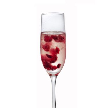 <i>1 oz. Russian Standard Vodka<br />¼ oz. simple syrup<br />4 raspberries<br />Sparkling wine</i><br /><br />To make simple syrup, mix equal parts hot water and sugar until sugar is dissolved. Muddle all ingredients except sparkling wine in a cocktail shaker. Add ice and shake. Pour into a champagne flute and top with sparkling wine.<br /><br /><i>Source: Russian Standard Vodka</i>