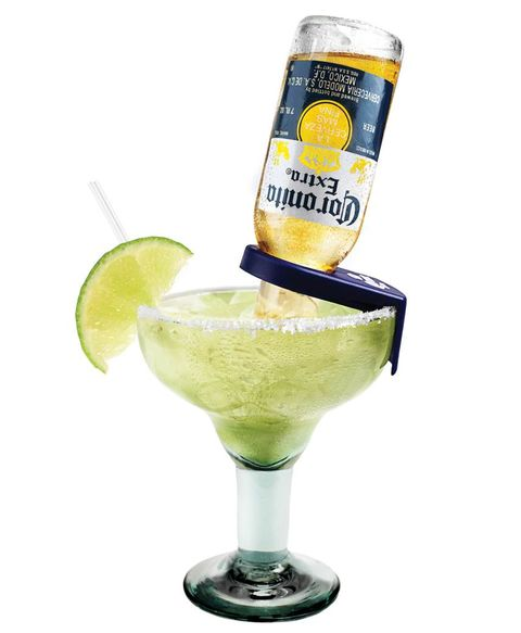 <p><em><strong>Corona-Rita</strong></em></p> <p>1 Part Tequila</p> <p>2 Part Margarita Mix</p> <p>1 Part Triple Sec</p> <p>7 oz <em>Corona</em> or <em>Corona</em> Light</p> <p>1 Lime Wedge</p> <p>In cocktail shaker, pour tequila, mix, and triple sec. Shake and strain into glass over ice. Top with <em>Corona</em> beer.</p> <p> </p> <p><em><strong>FrutaChelada</strong></em></p> <p>12 oz Bottle of <em>Modelo Especial</em></p> <p>Spicy & Sweet Coarse Salt</p> <p>2 Tablespoons Chopped Fresh Mango</p> <p>3 Raspberries – cut in quarters</p> <p>1 Teaspoon Sugar</p> <p>1 Lime- juiced</p> <p>Dash of hot sauce (optional)</p> <p>Garnish with fresh mango</p> <p>Salt rim of glass with Spicy & Sweet salt. Muddle mango with sugar, add raspberries, muddle. Add ice, hot sauce and beer; stir and pour. Garnish and save extra beer on side for later. </p>