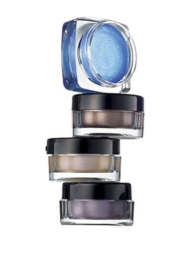"<p>Brighten eyes with a pop of high-drama color with these smudge-proof shades from Avon. We j'adore that the hues are as intense as they look in the pots. Pair the bold color with a white tee and your ""good butt"" jeans, and he's yours.</p>