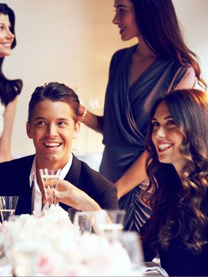 """<p>Meeting a guy at a wedding or a get together might sound appealing, but surprisingly, <a href=""""http://www.cosmopolitan.com/celebrity/news/thirty-two-percent-of-men-cheat-at-wedding"""" target=""""_blank"""">research</a> shows that men are more likely to cheat at weddings or his friend's party than other social events (about 32 percent more likely), so he might be a guy just looking for a good time, while his partner is away somewhere. It seems unlikely, right? Well that's exactly what men what you think, <em>chica</em>!!<br /><br /></p>"""