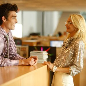 "<p><a href=""http://www.foxbusiness.com/personal-finance/2012/04/18/office-romances-on-rise-among-young-employees/"" target=""_blank"">Studies</a> show that office romance is on the rise, and over 80 percent of people surveyed for one study say that would probably date a coworker. Yikes! While some of them might blossom, office romances can be a little shaky, mainly because if things go sour, you're going to have to see this guy every day from 9am to 5pm—awkward. Plus, the last thing you want is the be the source of gossip at the workplace, and you don't want anything to hinder your work. Fight the urge to give that hottie at next cubicle your number!<br /><br /></p>"