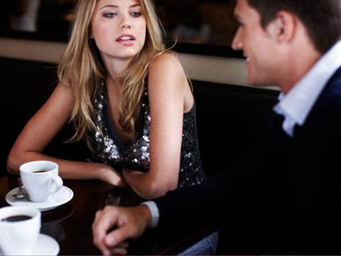 If he's hammered by the appetizers, try to get through your main course, skip dessert, try to put him in a cab, and get out of there. If he's belligerent, seek out help at the restaurant or bar.