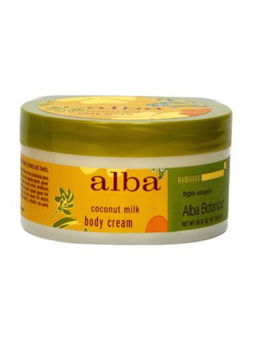 """<p>There's nothing sexier than the beachy, faintly sunscreen-y scent of coconuts…especially in the dead of a frigid winter! Soften, smooth and scent your skin with this uber-moisturizing, fast-absorbing body butter.</p>  <p>Alba Hawaiian Body Cream in Coconut Milk, $9, <a href=""""http://www.vitacost.com/alba-botanica-hawaiian-body-cream-coconut-milk"""" target=""""_blank"""">vitacost.com</a></p>"""