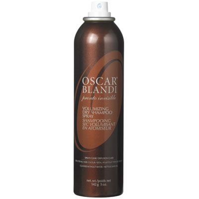 """Sometimes second- and third-day 'dos are the sexiest! Especially with a translucent dry shampoo &#151&#x3B; simply spray throughout hair and finger-tousle. The gentle starches absorb excess oil while adding Cosmo cover girl-style volume to ho-hum hair. Raowr.<br></br> Oscar Blandi Pronto Invisible Volumizing Dry Shampoo Spray, $25, <a href=""""http://www.sephora.com/pronto-invisible-volumizing-dry-shampoo-spray-P261133?skuId=1249929"""" target=""""_blank"""">sephora.com</a>"""