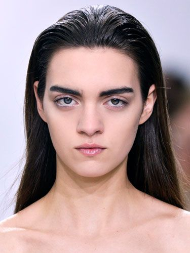 A strong brow is definitely sexier than a skinny arch—but these penciled-in monstrosities belong on Muppets, not people.
