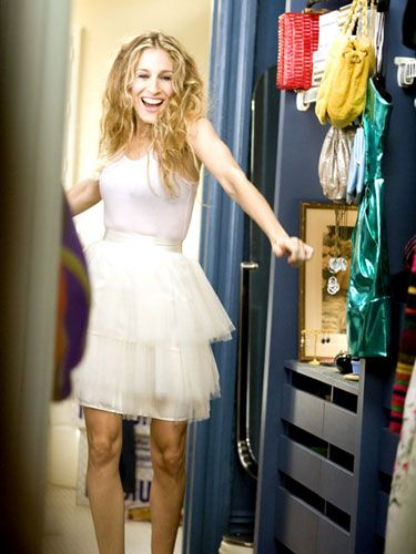 Carrie showing up at Big's door dressed as a candy striper took their relationship to a new level.