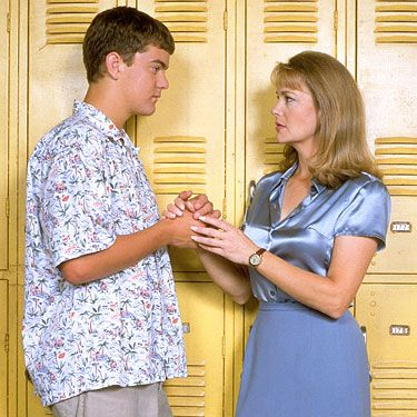 "Tamara was originally written as a sexy local summering in Capeside. When the show got picked up for a full season, the writers decided to make her a teacher at Capeside High to give her storyline more legs. Pacey is all, ""Dawson, this time, I got the girl."" But then he accidentally has sex with her on camera. Oopsies."