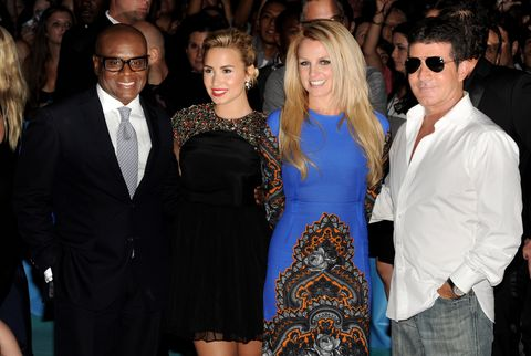 <p>Being able to kick it with Simon and Britney? If that's not super dope, we don't know what is!</p>