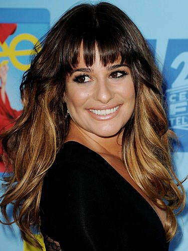 10 Gorgeous Hairstyles With Bangs Best Celebrity Fringe