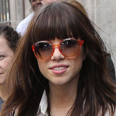 <p><strong>Why it Works:</strong> Carly Rae Jepsen&#146&#x3B;s endless layers help her bangs blend into the rest of her hair, while the side pieces around her face are wispy not blunt and help frame her face.</p> <p><strong>Styling Secret:</strong> Using a flat iron is a must&#151&#x3B;not a maybe. While the slightly messy &#145&#x3B;do appears effortless and undone, making bangs stick straight and frizz-free is crucial so your hair doesn&#146&#x3B;t look like a hot mess. But before you turn on your hot tool, be sure to spritz on a heat protective spray to prevent scorching.</p>