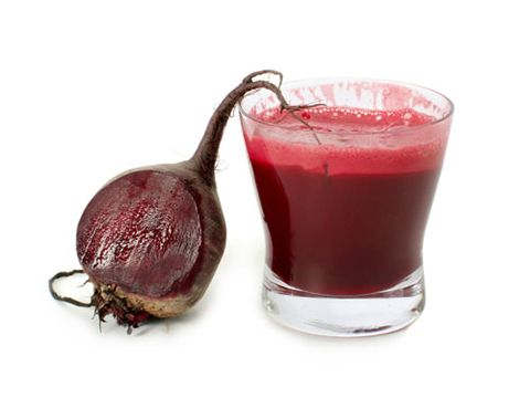 Sip beet juice for a few days before your event and you may finish faster. Nitrate compounds are thought to improve blood flow to muscles.
