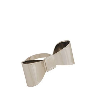 <p>Get this super sweet Kate Spade-esque ring for pocket change. It's the perfect accessory for Deschanel worshipers.</p>