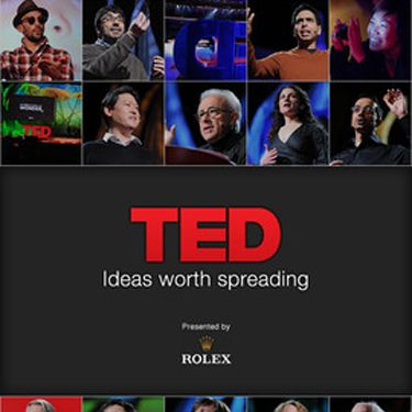 I love TED talks. I can't get enough. Bright, ingenious and sometimes completely bizarre addresses but always massively thought provoking. 