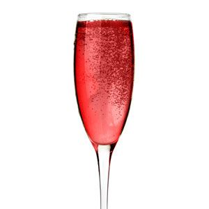 <p>3 oz Prévu<br /> 1 oz champagne<br /> raspberry garnish</p>