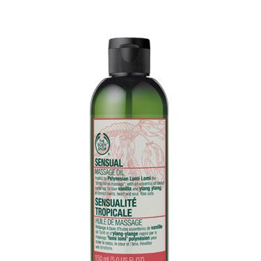 <p>Spiked with Polynesian ylang ylang and Tahitial vanilla — both proven aphrodisiacs — this heady oil is essential to giving yourself (or him, lucky guy) a relaxing, super-sensual massage.</p>