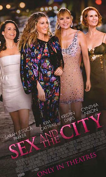 Love book in sex and the city movie