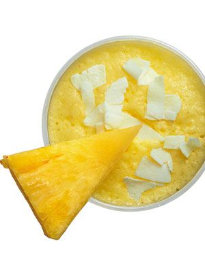 <p>Like a Puerto Rican piña colada—trade the rum for immunity-boosting honey. Makes 1 serving.(330 calories)</p> <p>3⁄4 cup coconut milk<br />1⁄2 cup diced fresh pineapple <br />4 ice cubes2 tablespoons honey</p> <p>Combine all ingredients in a blender and process until smooth.</p> <p> </p>